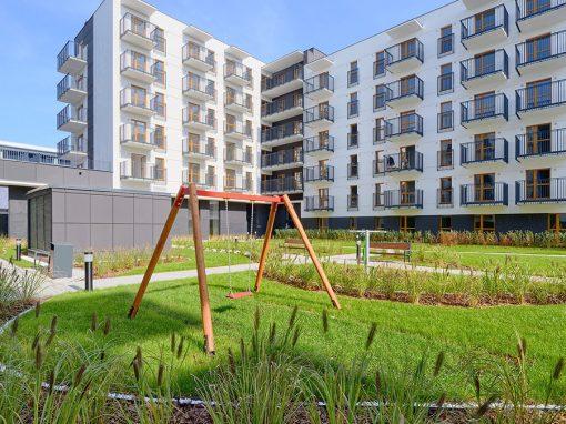 Apartments Bakalarska in Warschau