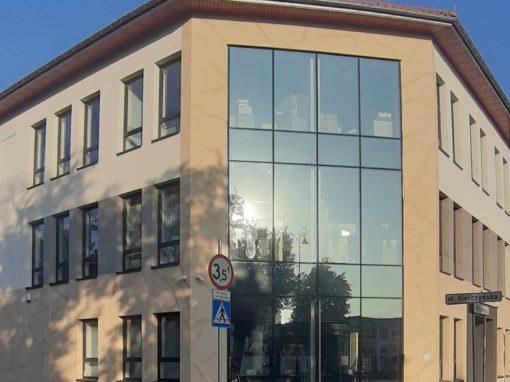 Das Gebäude KRUS in Łomża